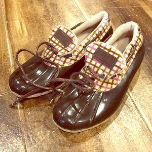 Sperry Topsider Duck boot shoe
